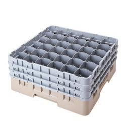 Cambro 36-compartment Grey Camrack