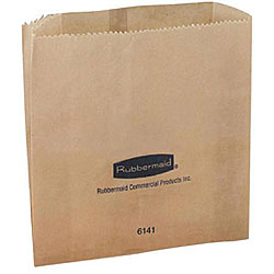 Rubbermaid Sanitary Napkin Receptacle Waxed Bags (Case of 250)
