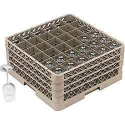 Traex 36-compartment Glass Rack with Three Extenders