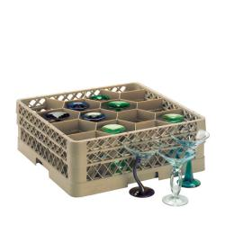 Traex 12-compartment Glass Rack with Three Extenders