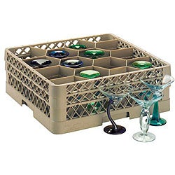 Traex 12-compartment Glass Rack with Four Extenders