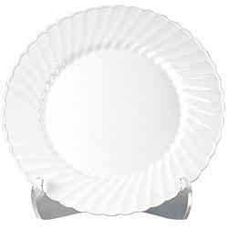 WNA Comet 10.25-in White Classicware Plates (Case of 144)