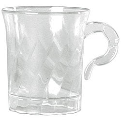 WNA Comet West 8-oz Clear Classicware Coffee Cups (Case of 192)