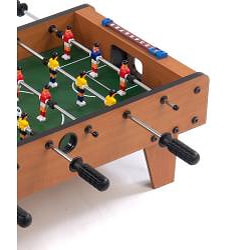 Miniature Wooden 27-inch Foosball Table Game - Thumbnail 2