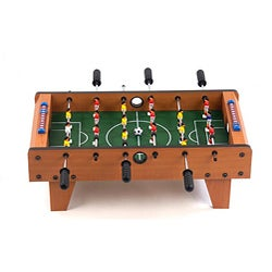 Miniature Wooden 27-inch Foosball Table Game