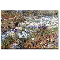 Frederick Childe Hassam 'Water Garden' Canvas Art