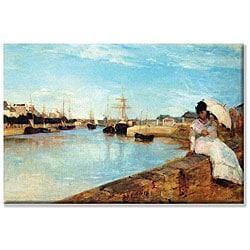 Berthe Morisot 'Port at Loby' Extra Large Unframed Art Print