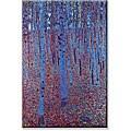 Gustav Klimt 'Beech Forest' Small Art Print