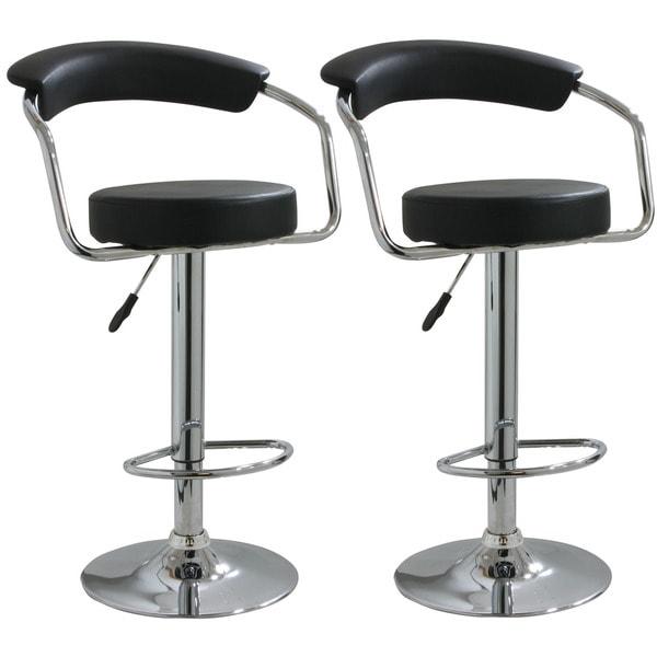 AmeriHome Round Black Padded Bar Stools Set of 2 Free  : Buffalo Tools Round Black Padded Barstools Set of 2 8977fd5e 4af6 4ea9 925a f7d6e71af9c9600 from www.overstock.com size 600 x 600 jpeg 21kB