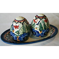Stoneware Salt and Pepper Shaker Set (Poland)