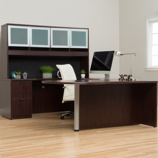 Boss Curved Series Left Return Workstation Desk