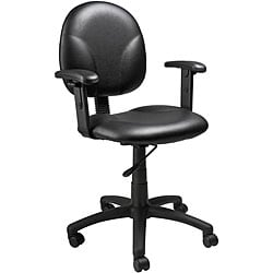 Boss Mid-Back Ergonomic Task Chair with Arms