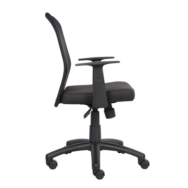 Boss Black Mesh Office Chair Free Shipping Today Overstock Com