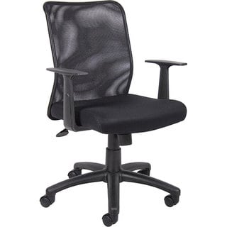 Boss Black Mesh Office Chair