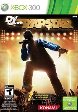 Xbox 360 - Def Jam Rapstar (Game & Microphone) - By Konami