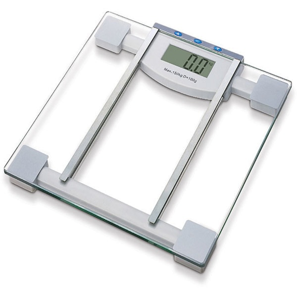 Tempered Glass Digital Body Fat and Water Scale
