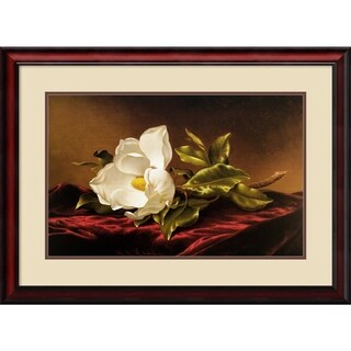 Martin Johnson Heade 'Magnolia Grandiflora' Framed Art Print