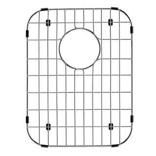 VIGO Chrome 11 7/8 x 15 3/8 inches Kitchen Sink Bottom Grid
