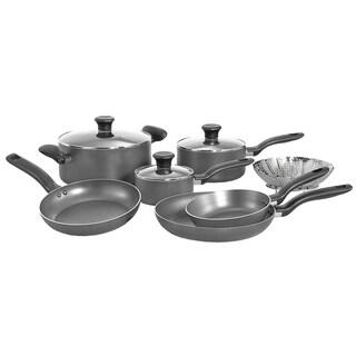 Grey 10-piece Cookware Set