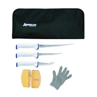Ginsu American Angler Stainless Steel 6-piece Saltwater Fillet Set