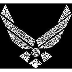 Los Angeles Pop Art Women's Air Force V-neck Shirt - Thumbnail 1
