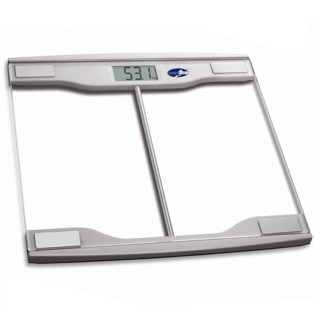 Digital With Gl Top Bathroom Scale