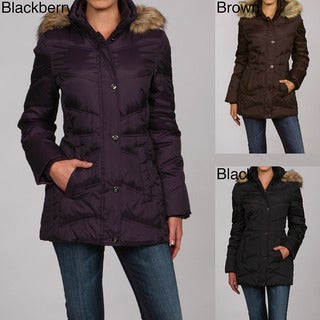 Shop London Fog Women S Down Coat Free Shipping Today