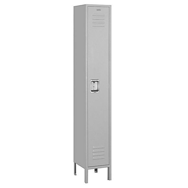 Salsbury Industries 61000 Series Gray Single-Tier Standard Locker