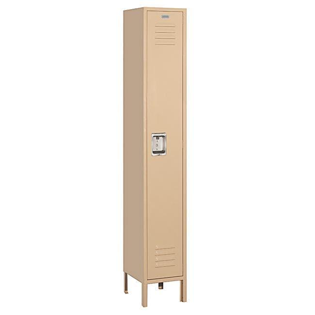 Salsbury Industries Heavy-Duty Tan Single-Tier Standard Locker