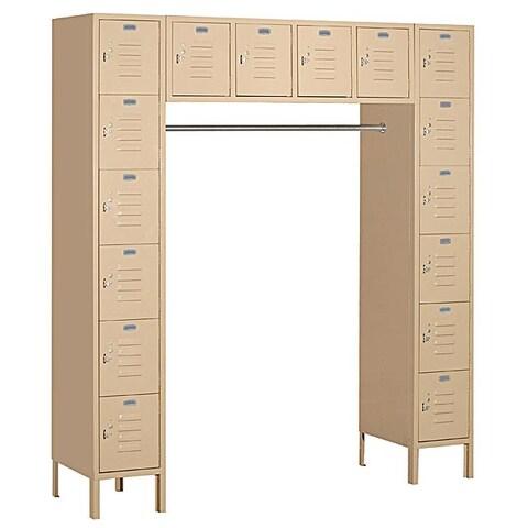 Salsbury Industries Tan Box-style Bridge Locker