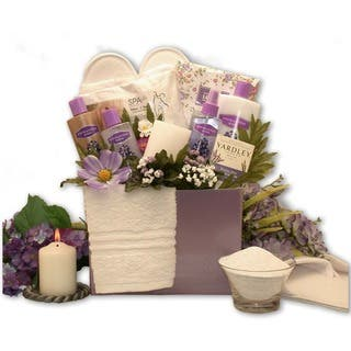 Gift baskets for less overstock spa essentials lavender gift box negle Choice Image