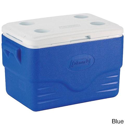 Coleman 36-Quart Blue Cooler