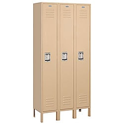 Salsbury Industries 61000 Series Tan Single-Tier Standard Lockers