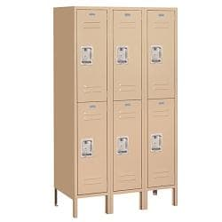 Salsbury Industries Double-tier Standard Lockers