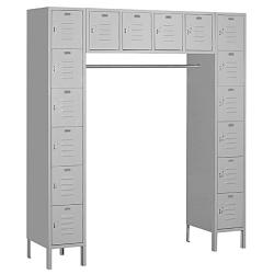 Salsbury Industries Grey Box-style Bridge Lockers