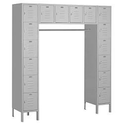 Salsbury Industries Grey Box-style Bridge Lockers