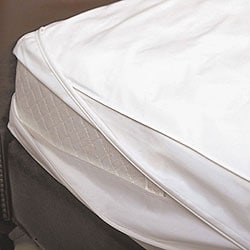 Allergy Control Cotton Performance Twin/ Twin XL-size Mattress Encasing - Thumbnail 0
