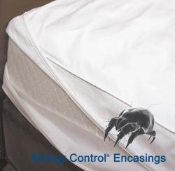 Allergy Control Cotton Performance King/ California King-size Mattress Encasing - Thumbnail 2
