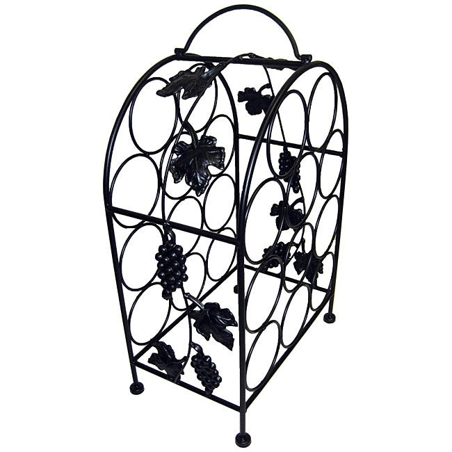 Pangaea Home and Garden 11-bottle Grape-vine Wine (Red) Cage