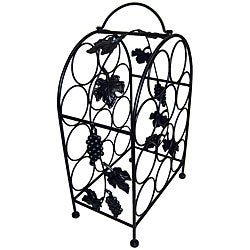 11-bottle Grape-vine Wine Cage