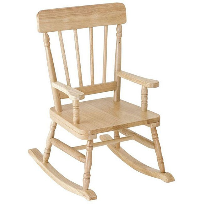Levels Of Discovery Simply Classic Oak Rocking Chair
