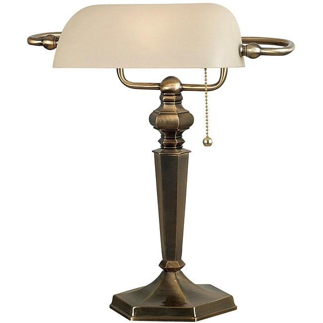Doherty Banker-style Desk Lamp