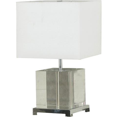 Somerset Crystal Glass Table Lamp