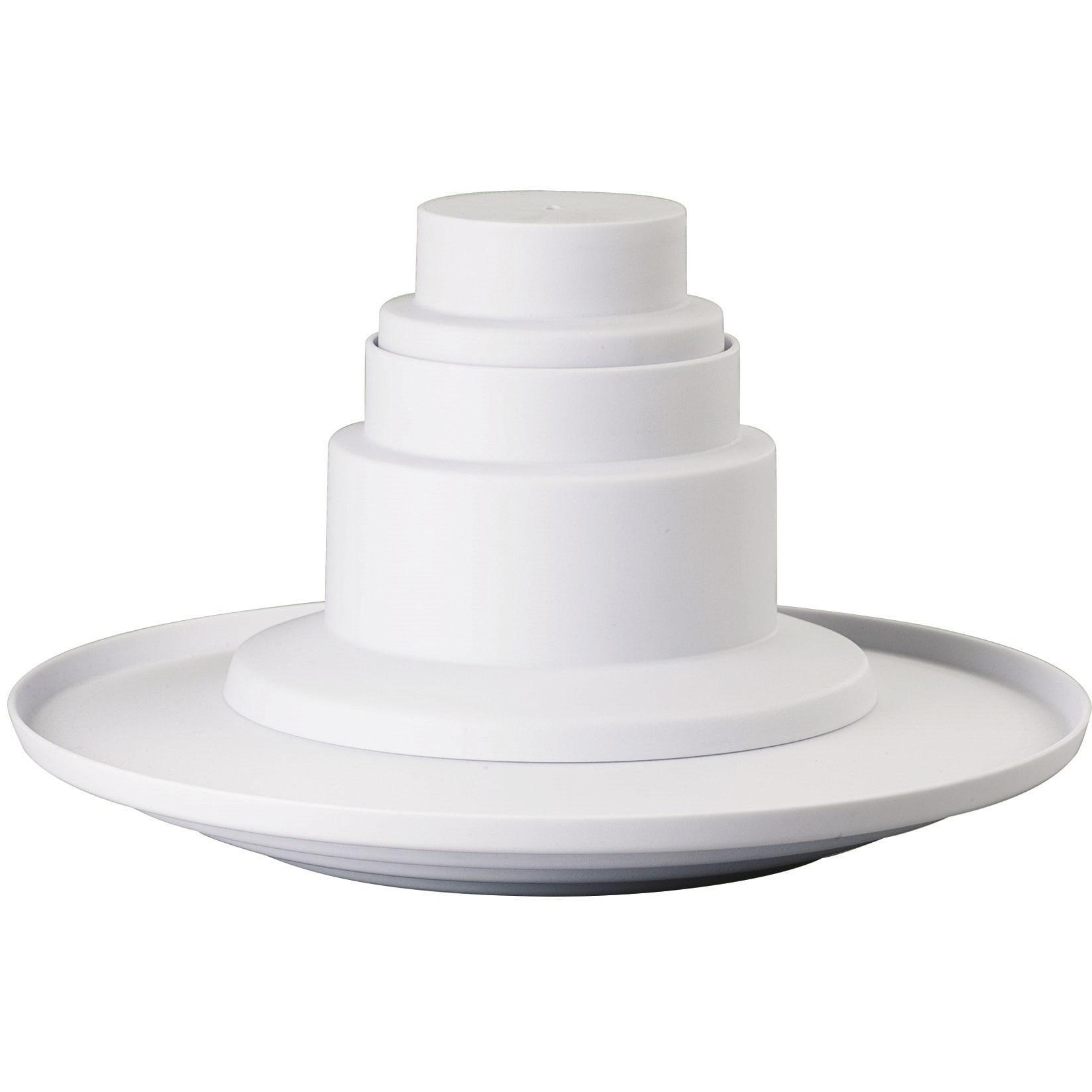Wilton 4-tier Dessert Tower/ Cupcake Stand, White (Plastic)