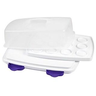 Ultimate 3-in-1 Cupcake Caddy