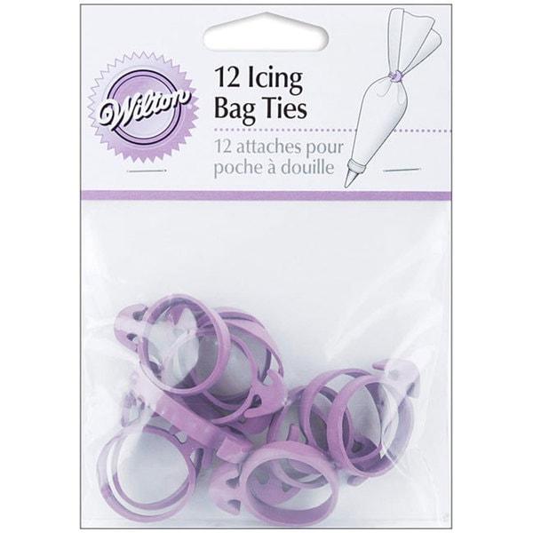 Purple Icing Bag Ties (Pack of 12)