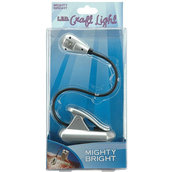mighty bright led xtraflex silver craft light free shipping on. Black Bedroom Furniture Sets. Home Design Ideas