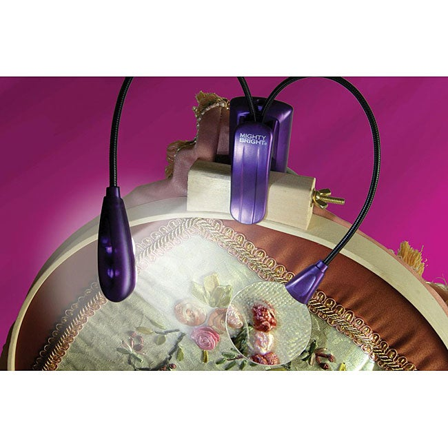 Mighty Bright Vusion Purple Craft Light Free Shipping On