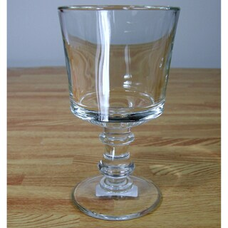 La Rochere Historic 'Jacques Coeur' Footed Water Glass (Set of 6)
