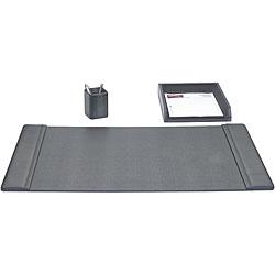 Dacasso Leather 3-piece Desk Set